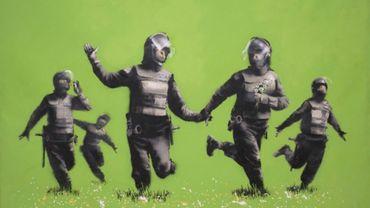 """Beanfield"" de Banksy"