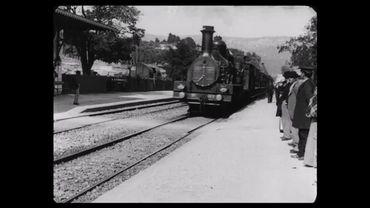 L'Arrivée d'un train en gare de La Ciotat des frères Lumière passe à la 4K