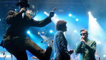 Les Beastie Boys sur scène en 2007