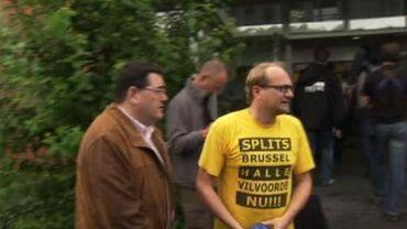 L'élu N-VA Ben Weyts était présent au départ du Gordel ce dimanche