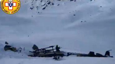 Un Belge parmi les victimes d'un accident d'avion dans les Alpes italienne