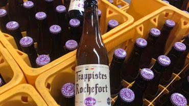 La nouvelle bière arbore une capsule mauve très facilement reconnaissable.