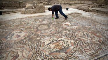Israël: une mosaïque vieille de 1.700 ans dévoilée