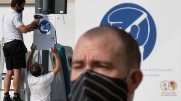 Ce mercredi, Sciensano faisait état d'une moyennede 502,1 contaminations en une semaine.