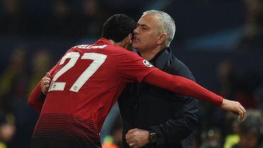 """Mourinho sur Fellaini: """"Tout le monde sait ce qu'il peut apporter"""""""