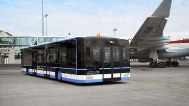 Van Hool Construit Le Plus Grand Bus Aeroportuaire Du Monde