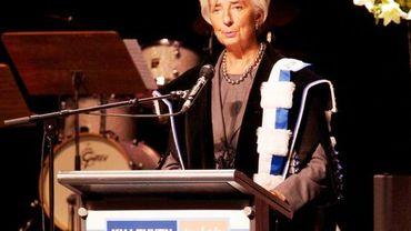Christine Lagarde, docteur Honoris Causa de la KUL