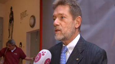 Jean-Marie Pire, chef du protocole de la ville de Bruxelles.