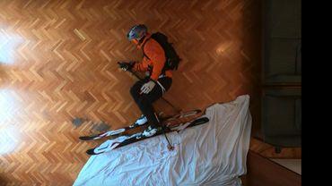 Espagne: du ski freeride en salon, en plein confinement,la géniale vidéo qui cartonne