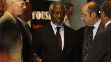 """Syrie: à Damas, Kofi Annan se dit """"horrifié"""" par le massacre de Houla"""