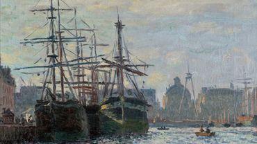 Claude Monet, Le Bassin du Commerce, fin du XIXe siècle