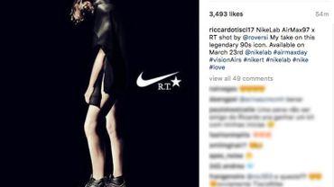 Riccardo Tisci revisite la Air Max de Nike
