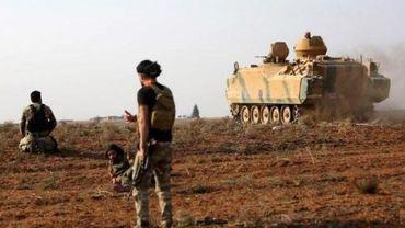 Premiers combats dans le nord entre forces du régime syrien et de la Turquie