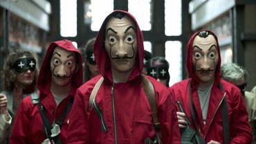 Capture d'écran de la série Casa De Papel