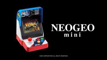 SNK dévoile la liste des jeux préinstallés sur la Neo Geo Mini