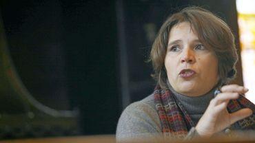 Cécile Jodogne (DéFI), secrétaire d'Etat à la lutte contre l'Incendie et l'Aide médicale urgente.
