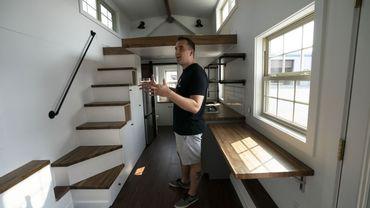 Marcus Stoltzfus, directeur commercial et marketing de Liberation Tiny Homes