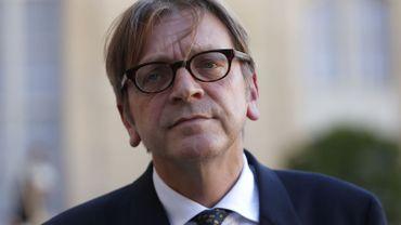 """Guy :Verhofstadt : """"le Conseil peut décider que le CETA est de la compétence exclusive de l'UE"""""""