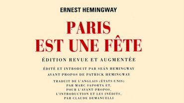 """""""Paris est une fête"""" d'Ernest Hemingway (Gallimard) s'installe en tête du classement"""
