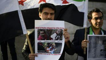 Manifestation à Paris le 6 avril pour dénoncer l'usage d'armes chimiques en Syrie