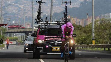 L'équipe Manzana Postobon est suspendue par l'UCI
