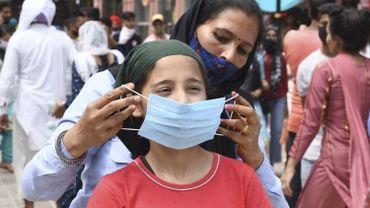 L'Inde dépasse pour la première fois les 100.000 cas d'infection par le coronavirus par jour
