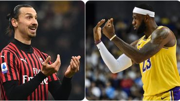 Zlatan Ibrahimovic - Lebron James, le clash.