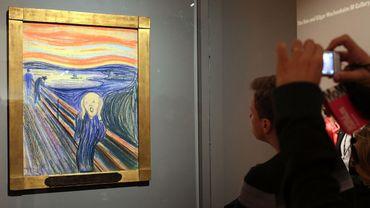 Le cri, d'Edvard Munch exposé à New York en 2012