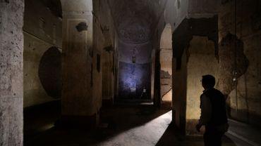 Une mystérieuse basilique païenne souterraine du milieu du Ier siècle, découverte en 1917 sous le principal chemin de fer de Rome, a bénéficié d'une nouvelle tranche de restauration. Cliquer en haut à droite pour afficher les autres photos.