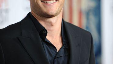 """Scott Eastwood participe actuellement au tournage de """"Fury"""", film de guerre qui l'opposera à Brad Pitt et Shia LaBeouf"""