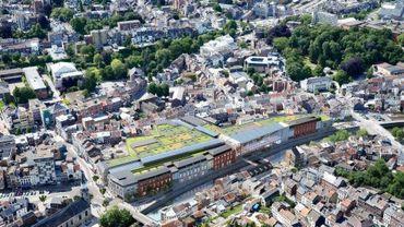 Le projet City Mall à Verviers