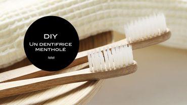DIY Beauté : un dentifrice mentholé