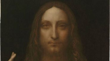 "Léonard de Vinci, ""Salvator Mundi"""