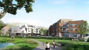 Bientôt un nouveau quartier verdoyant et convivial derrière le Parc à Mitrailles