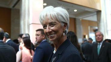 La directrice générale du Fonds monétaire international Christine Lagarde à Ankara le 5 septembre 2015