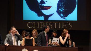 Andy Warhol, numéro 1 des enchères mondiales en 2012