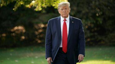 Donald Trump à la Maison Blanche le 16 septembre 2019