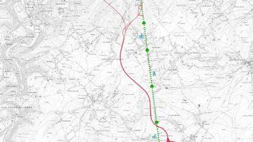 """N5: après 30 ans, accord pour la solution dite du """"trident"""" au sud de Charleroi"""
