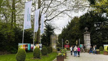 L'entrée du Jardin Botanique à Meise