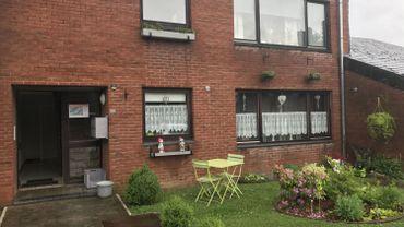 La maison où Michael Wilmet a été tué dans la Cité de l'oiseau bleu, à On (Marche-en Famenne).