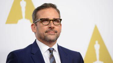 """Steve Carell tourne actuellement """"The Big Short"""" aux côtés de Brad Pitt, Christian Bale et Ryan Gosling"""