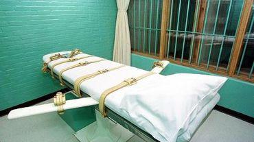Chambre d'exécution du pénitentier de Huntsville, au Texas