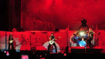 Un concert d'Iron Maiden à Santiago du Chili