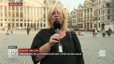"""Diane Delen, présidente de la fédération des cafés de Belgique: """"On ne nous fait pas de cadeaux"""""""