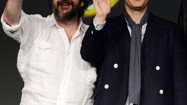 Peter Jackson et Martin Freeman