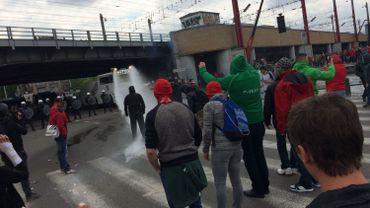 Des incidents se sont produits près de la gare du Midi
