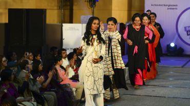 Bangladesh: des femmes vitriolées mannequins lors d'un défilé de mode