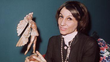 Janine Charrat en 1975