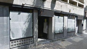 Cellule commerciale vide à Charleroi