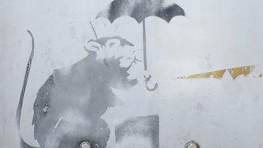 La ville de Tokyo expose depuis jeudi un dessin au pochoir susceptible d'être l'oeuvre de Banksy